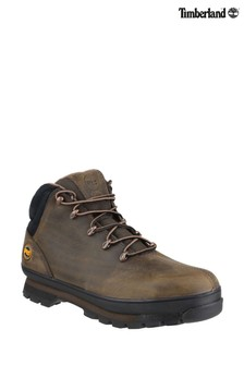 Timberland® Pro Brown Splitrock Lace-Up Safety Boots