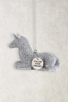 Sparkle Unicorn Hanging Decoration