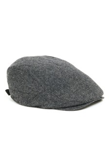 Grid Texture Flat Cap 31282050dec