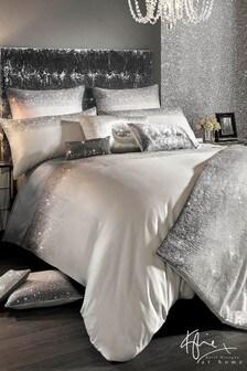 Kylie Bettbezug mit Glitzer und Farbverlauf