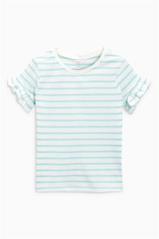 Ruffle Sleeve T-Shirt (3-16yrs)