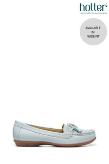 Hotter Honiton Wide Fit Slip-On Loafer Shoes