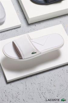 Lacoste® White Slider
