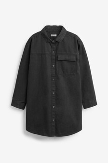 Oversized Denim Shirt (3-16yrs)