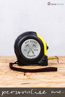 Personalised Tape Measure by Loveabode
