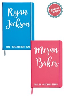 Personalised Named Notebook by Oakdene