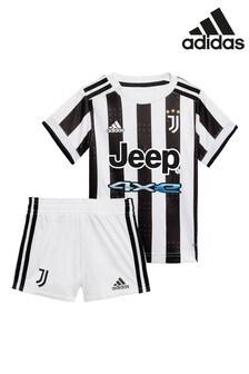 adidas Juventus 21/22 Home Baby Football Kit