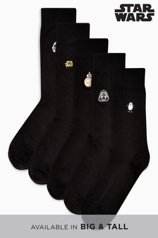 Socken mit Star Wars™-Stickerei, 5er-Pack