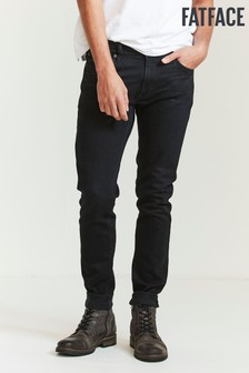 FatFace Black Lean Washed Black Jeans