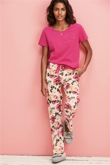 Floral Short Sleeve Pyjamas