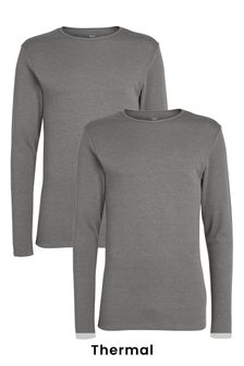 Thermal Long Sleeve Tops Two Pack