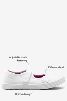 Flower Plimsolls (Older)