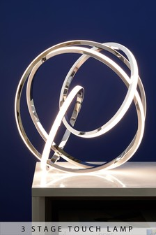 LED Orbit Touch Table Lamp