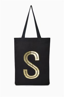 Initial Shopper Bag