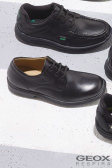 Geox Federico Black Shoe