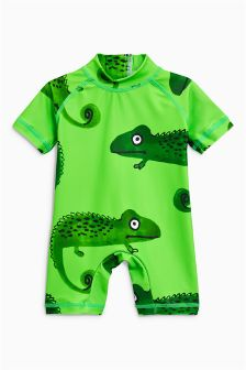Chameleon Print Sunsafe Suit (3mths-6yrs)