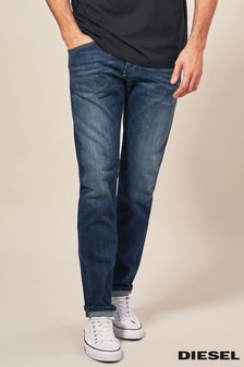 Diesel Mid Wash 814W Belther Tapered Fit Jean