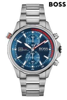BOSS Globetrotter Stainless Steel Bracelet Watch