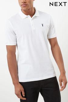 a1ab39e5 ... official mens polo shirts plain striped printed polo shirts next uk  f1c5b 5ff6d