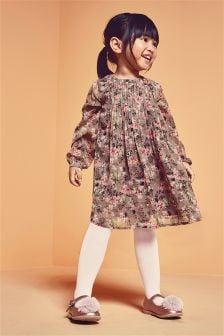 花卉连衣裙 (3个月-6岁)