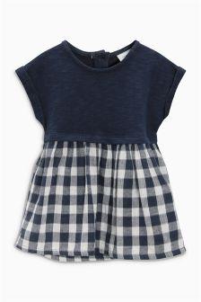 Gingham Dress (0mths-2yrs)