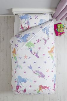 Rainbow Mermaid Bed Set