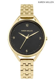 Karen Millen Gold Bracelet Watch