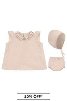 Bonpoint Baby Girls Pink Outfit