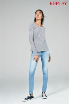 Replay® Light Wash Skinny Jean