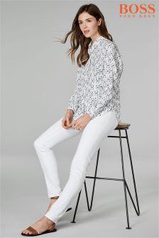 BOSS White Jean