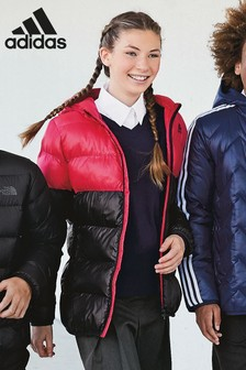 adidas Pink and Black Jacket