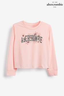 Abercrombie & Fitch Pink Image T-Shirt