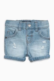 Джинсовые шорты (3 мес.-6 лет)