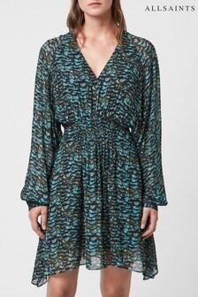 AllSaints Opal Green Nichola Dress