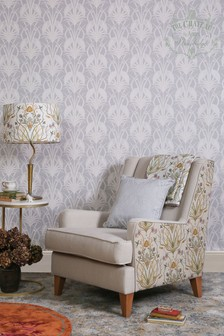 The Chateau by Angel Strawbridge Deco Heron Wallpaper