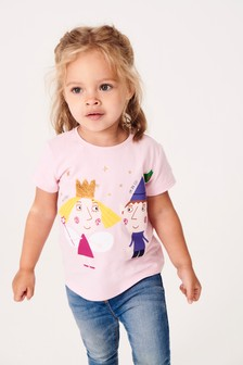 Ben & Holly Sequin T-Shirt (9mths-7yrs)