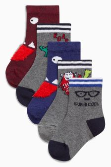 Character Socks Five Pack (Younger)