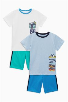 Fast Food Pyjamas Two Pack (3-16yrs)