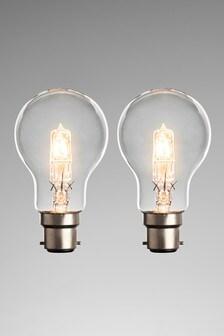 2 Pack 42W BC GLS Halogen Bulb