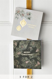 20 Pack Bauble Christmas Cards
