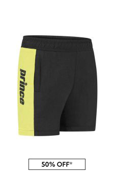 Kids Black Sprint Shorts