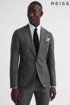 Karen Millen Black PU Snake Effect Bag