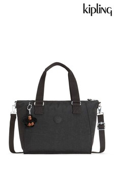 Kipling Black Amiel Medium Handbag