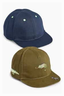 Animal Caps Two Pack (Younger)