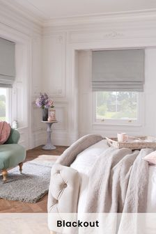 Cotton Studio* Blackout Roman Blind