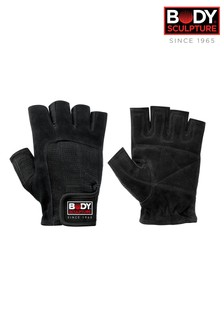 Body Sculpture Leather Medium Exercise Gloves