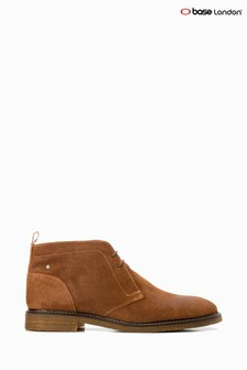 Base London® Tan Lawson Lace-Up Chukka Boots
