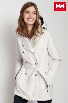 Helly Hansen Light Grey Welsey Trench