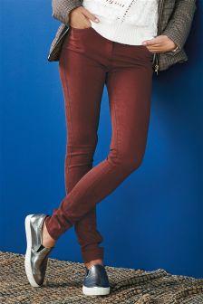 Skinny-Jeans mit weicher Oberfläche
