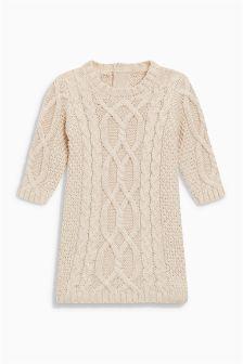 Knitted Dress (0mths-2yrs)